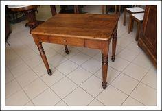 Antico tavolinetto toscano arte povera , toscano restaurato. Scrittoio Antiquariato Luigi FIlippo