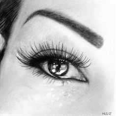 Manchester-based artist Martin Lynch-Smith expertly sketches the human eye, capturing every minute detail. From the wispy hairs of ones eyelashes and the wrinkled creases under the eye to the entrancing texture of the iris, the artist is able to execute hyperrealistic renditions of soulful eyes.