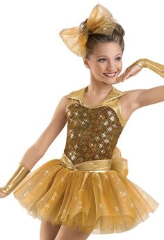 Halter Leo with Tulle Skirt; Pop Star Costumes, Dance Costumes Tap, Dance Outfits, Dance Dresses, Girl Outfits, Girls Dresses Sewing, Special Dresses, Girls Party Dress, Dance Wear