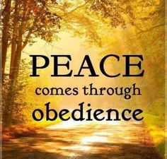 1 John 4:18 perfect love (obedience)