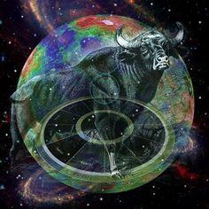 AstroSpirit / Taurus ♉ / Earth / The Bull / Carolyn Quan Scorpio Sun Sign, Sun In Taurus, Scorpio Moon, Taurus And Gemini, Taurus Traits, Taurus Art, Astrology Taurus, Astrology Signs, Zodiac Signs