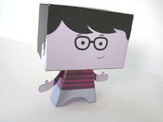 Free printable paper toy boy