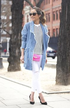 Stripes And Denim BeSugarandSpice waysify