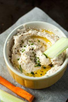 jadłonomia • roślinne przepisy: Hummus fasolowy
