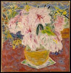 Pink Bouquet  Pierre Bonnard  (French, Fontenay-aux-Roses 1867–1947 Le Cannet)
