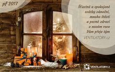 Vážení zákazníci, přejeme Vám překrásné Vánoce a úspěšný nový rok 2017. #vanoce #pf2017 #vanocnicas #christmas #christmastime #VENTILATORYcz #merrychristmas #veselevanoce