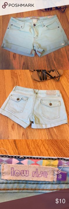 Turquoise jean shorts turquoise shorts really show off your summer skin! 98% cotton 2% spandex. Billabong Shorts Jean Shorts