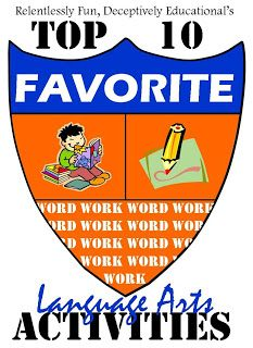 Relentlessly Fun, Deceptively Educational's Top 10 Favorite Language Arts Activities of 2012.