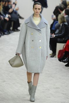 Fall 2013 Coat Trend: Around We Go (Celine RTW Fall 2013)