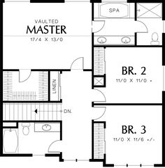 Cape 2nd Floor Like This Layout With Larger Bedrooms And Master Bath Instead Of Closet Lake
