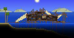 fishing shack terraria - Google Search