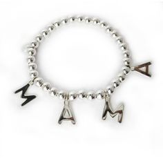 Pulsera ABC, ABC Bracelet, personalised bracelet. Pulsera personalizada