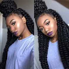 Women enjoy wearing box braids because these braids not only allow them to extend the length of their hair, but they can also wear different hairstyles with box braids. Although these styles look v…