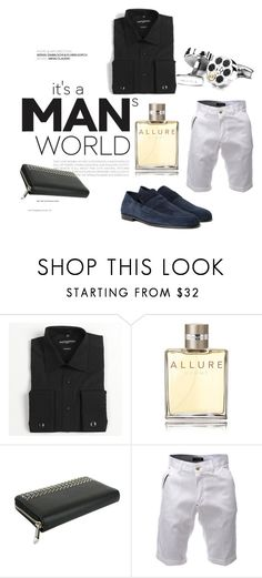 """""""Bullet in the Cuff"""" by josehline on Polyvore featuring Jean-Paul Germain, Chanel, Gucci, Harrys of London, men's fashion and menswear"""