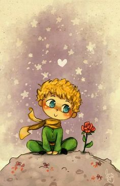 Le Petit Prince by Chibi-Joey on DeviantArt Little Prince Quotes, The Little Prince, Chibi, Le Petit Prince Film, Prince Drawing, Little Books, Belle Photo, Cute Drawings, Cute Wallpapers