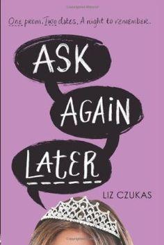 Ask Again Later - Liz Czukas #read2015