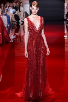 Resultado de imagem para vestido de festa vermelho