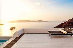 Ideas for honeymoon suites in Santorini Honeymoon Hotels, Honeymoon Suite, Santorini Hotels, Santorini Wedding, Best Wedding Planner, Wedding Planning, Outdoor Furniture, Outdoor Decor, Luxury Wedding