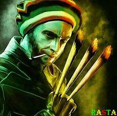 #Rasta #Wolverine #Cannabis