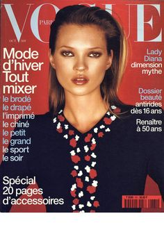 Vogue Paris Oct 1997: Kate Moss