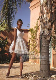 Boutique Chez Janine – Brautmode, Brautkleider und Festmode für Sie und Ihn - Kurz Glamour, Marie, White Dress, Dresses, Boutique, Fashion, Dress, Baggy Dresses, Slim