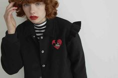 This Lazy Oaf Collection Features All Your Disney Faves | Black Mickey Mouse jacket | 90s inspired fashion | [ http://di.sn/600588osJ ]
