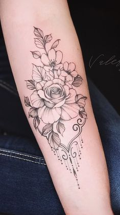 log in – floral tattoo sleeve Hot Tattoos, Body Art Tattoos, Small Tattoos, Sleeve Tattoos, Tatoos, Tattoo Femeninos, Piercing Tattoo, Piercings, Tattoo Pics