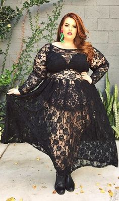 Tess Holliday's About to Launch the Fiercest Plus-Size Clothing Line Ever – Plus Size Models Look Plus Size, Plus Size Girls, Plus Size Women, Hipster Grunge, Style Grunge, Soft Grunge, Curvy Women Outfits, Clothes For Women, Curvy Women Fashion