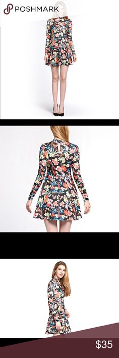 Floral Print Dress Very cute and comfy floral print dress. Dresses Mini