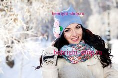 Designer scarves and hats wholesale and Retail bebright-shop.ru Дизайнерские снуд-шарфы и шапки опт и розница