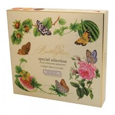 Butterflies Crisp Gift Box.  Available from The Fine Cheese Co.