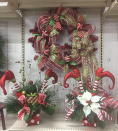 Christmas whimsy collection 2016, floral design, Tara Powers, Micheal's of Midlothian Va.
