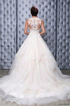 veluz reyes 2014 bridal georgina wedding dress illusion beaded back view