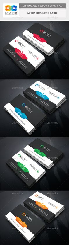 Creative zigzag design business card templatefree e business card media business card design template corporate business card template psd download here https reheart Images