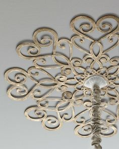 Horchow Scrolled Ceiling Medallion on shopstyle.com