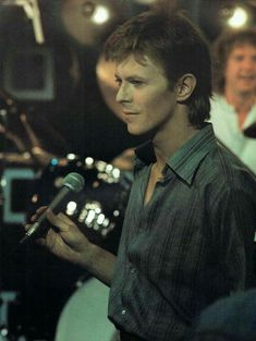David Bowie at Marc Bolan Show in 1977