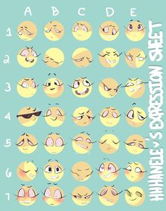 koolaid-girl: hhhanele: An expression sheet of. Drawing Reference Poses, Drawing Poses, Drawing Tips, Drawing Techniques, Drawing Stuff, Drawing Art, Expression Challenge, Drawing Challenge, Art Challenge