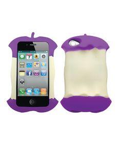 purple apple core case - zulily.com
