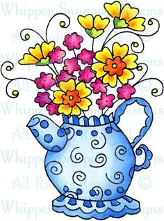 Blossoming Teapot