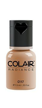 Dinair Airbrush Makeup Foundation | Natural Beige | Colair Radiance | .25 oz *** Read more reviews of the product by visiting the link on the image.