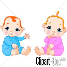 CLIPART SITTING BABIES