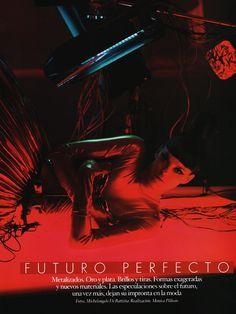 """Citizen K #59, Fall 2006 """"Futuro Perfecto"""" Photo: Michelangelo Di Battista Model: Shannan Click Style: Monica Pillosio"""