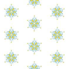 Flowers! - Sweet Birds of Summer - Sunshine Party - © PinkSodaPop 4ComputerHeaven.com fabric by pinksodapop on Spoonflower - custom fabric