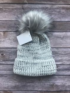 278cc1b7922 Forever 21 Pom-Pom Beanie Winter Knit Hat  fashion  clothing  shoes   accessories  womensaccessories  hats (ebay link)
