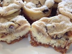Chocolate Chip Cookie Dough Mini-Cheesecakes!!! Oooh yea!!