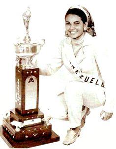 Miss Venezuela 1967 y Virreina Universal del Miss Universe 1967 by Antoni Azocar