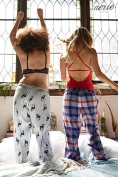 Sleep all night. Sleigh all day! Shop our coziest PJ's EVER in stores & at Aerie.com