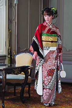 KIMONO GIRL by saladfreak, via Flickr