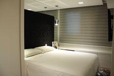 Solar Lalique, cliente RB: Quarto de casal jovem e clássico