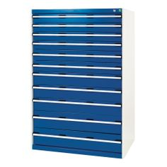 40029037 Bott Drawer cabinets the ultimate in organised storage for tools, fixings and components. Each drawer can be configured with a range of divider options Shelving Systems, Industrial Shelving, Tonne, Storage Design, Blinds, Cabinets, Drawers, Workshop, Drawer Dividers